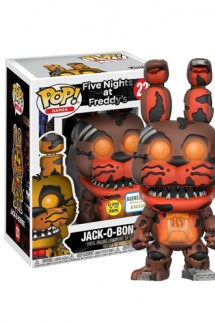 Pop! Games: Five Nights At Freddy's - Jack-O-Bonnie GITD Exclusivo