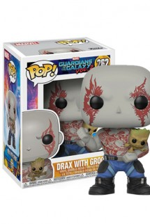Pop! Marvel: Guardianes de la Galaxia Vol. 2 - Drax & Groot Exclusivo