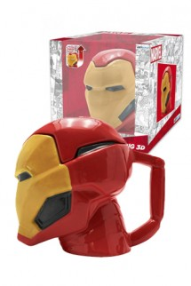 Marvel - Taza 3D Iron Man