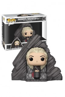 Pop! TV: Juego de Tronos - Daenerys con Dragonstone Throne