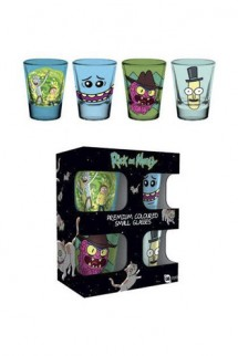 Rick and Morty - Premium Shotglass 4-Pack