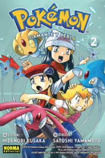 Pokémon 18. Diamante y Perla 2