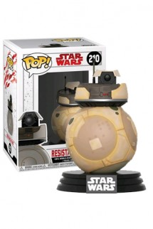 Pop! Star Wars: Episode 8 The last Jedi - Resistance BB Unit Exclusiva