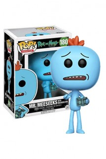 Pop! Animation: Rick and Morty - Mr. Meeseeks with Meeseks Box Limited