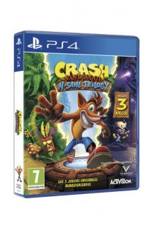 Crash Bandicoot: N. Sane Trilogy Ps4
