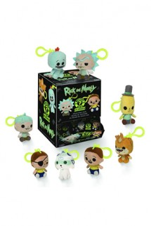 Mystery Minis Plushes: Rick & Morty