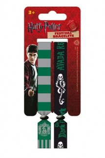 Harry Potter - Festival Wristband 2-Pack Slytherin
