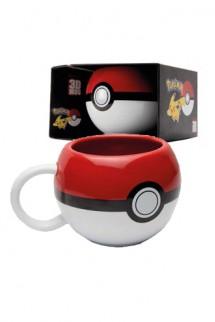 Pokemon - Taza 3D Pokeball