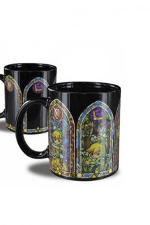 Legend of Zelda - Taza sensitiva al calor Link
