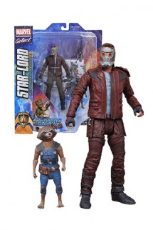 Guardians of the Galaxy Volume 2 - Figura Star-Lord & Rocket Raccoon