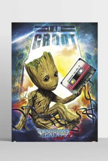 Poster Guardianes de la Galaxia Vol 2 - Groot