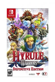 Hyrule Warriors Definitve Edition Switch