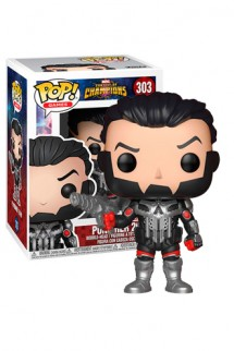 Pop! Games: Marvel Contest of Champions - Punisher 2099 Exclusivo