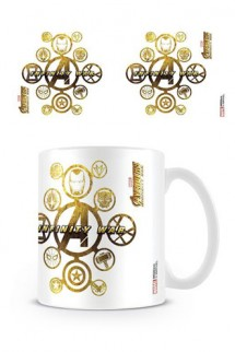 Vengadores Infinity War - Taza Connecting Icons