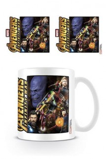Vengadores Infinity War - Taza Space Montage