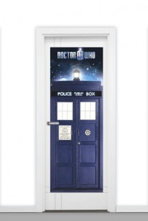Poster Puerta Doctor Who 'Tardis'