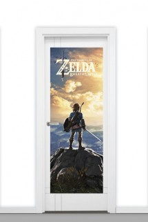 Door Poster The Legend Of Zelda Breath Of The Wild Sunset