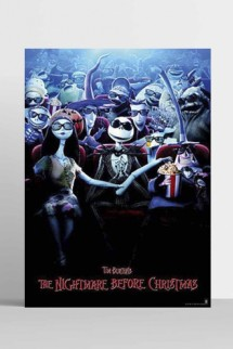 Poster Disney Nightmare Before Christmas
