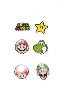 Super Mario - Mario Pin Set