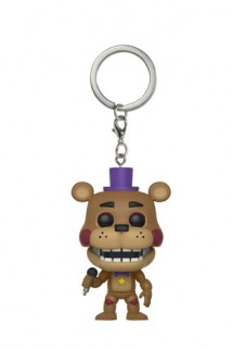 Pop! Keychain: FNAF Pizza Sim - Rockstar Freddy