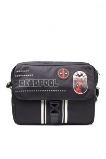 Deadpool - Icon Placement Printed Solid Messenger Bag