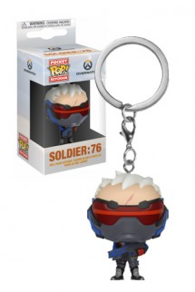 Pop! Keychain: Overwatch - Soldier: 76
