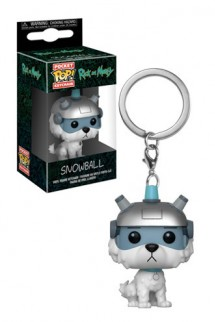 Pop! Keychain: Rick y Morty – Snowball