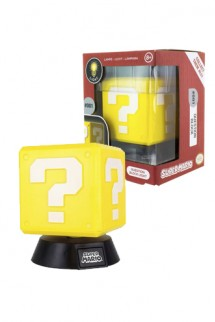 Nintendo - Light 3D Super Mario Question Block
