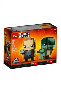 LEGO® BrickHeadz - Jurassic World™ Owen y Blue