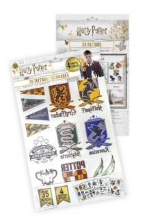 Harry Potter - Set de 35 Tatuajes temporales