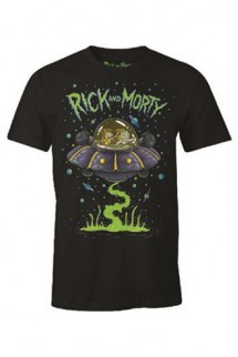 Rick y Morty - Camiseta Space Cruiser