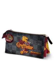 Harry Potter - Portatodo Quidditch Gryffindor triple