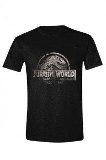 Jurassic World - Camiseta Damaged Logo
