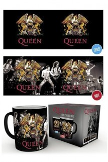 Queen - Taza sensitiva Crest