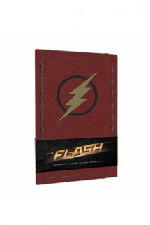 The Flash - Hardcover Ruled Journal Logo