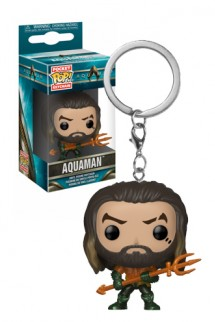 Pop! Keychain: Aquaman - Arthur Curry as Gladiator