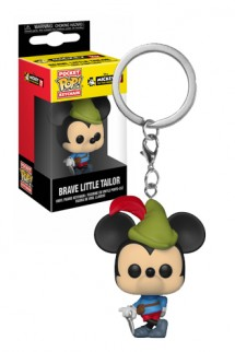 Pop! Keychain: Mickey's 90th - Brave Little Tailor