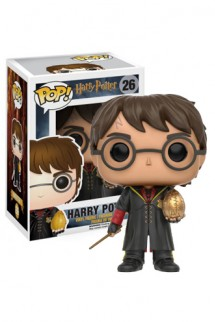 Pop! Movies: Harry Potter - Harry Triwizard w/Egg Exclusivo