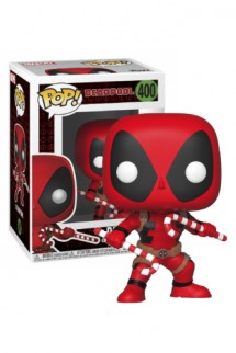 Pop! Marvel: Holiday - Deadpool w/ Candy Canes