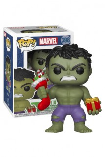 Pop! Marvel: Holiday - Hulk w/ Stocking & Plush