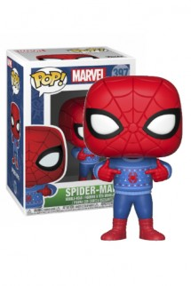 Pop! Marvel: Holiday - Spider-Man w/ Ugly Sweater