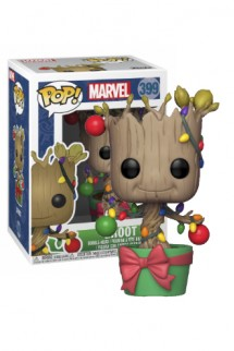 Pop! Marvel: Holiday - Groot w/ Lights & Ornaments