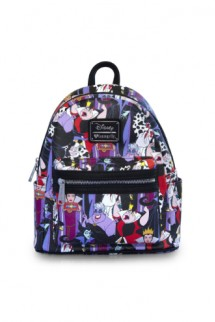 Loungefly - Disney Villains Mini Faux Leather Backpack