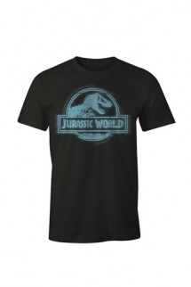 Jurassic World - Camiseta Logo azul
