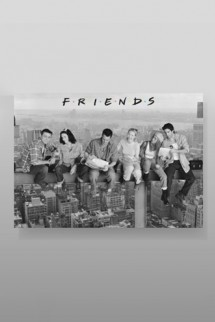 Friends - Poster On Girder