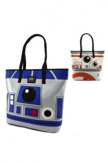 Loungefly - Star Wars R2-D2/BB-8 Big Face Tote Purse