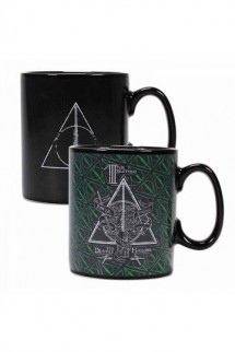 Harry Potter - Taza sensitiva Deathly Hallows