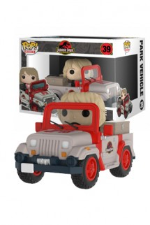 Pop! Ride: Jurassic Park - Park Vehicle
