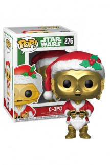 Pop! Star Wars: Holiday - C-3PO as Santa