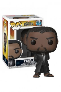 Pop! Marvel: Black Panther - T'Challa Robe (Black)